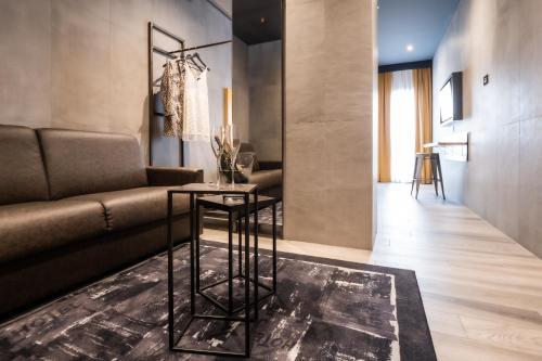 Uma área de estar em J24 Hotel Milano