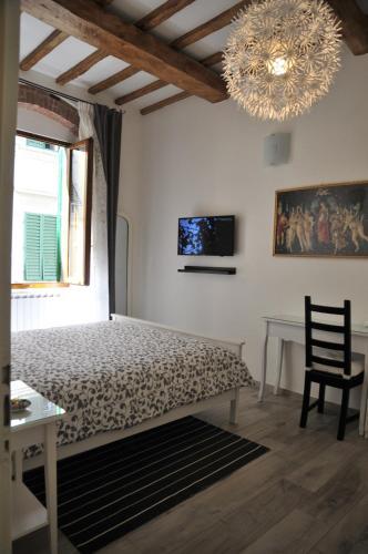 Cama o camas de una habitación en Conte Canacci