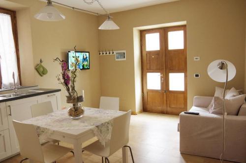 Area soggiorno di La Piccola Oasi Toscana