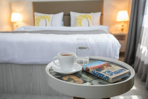 Кровать или кровати в номере Citrus Boutique Hotel