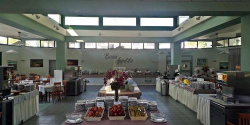 A restaurant or other place to eat at Club Village & Hotel Spiaggia Romea