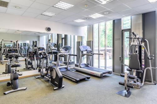 Fitnesa centrs un/vai fitnesa iespējas naktsmītnē Rixwell Elefant Hotel with FREE Parking