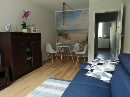 Posezení v ubytování Apartament Anchor Przymorze
