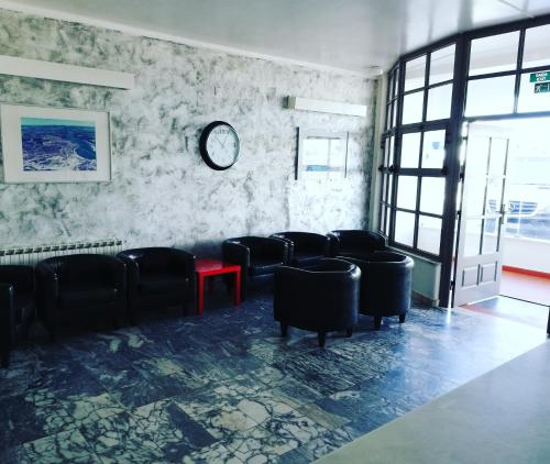 The lobby or reception area at Hotel Eira Da Pedra