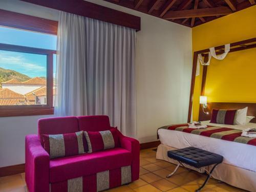 Cama o camas de una habitación en La Casona del Patio