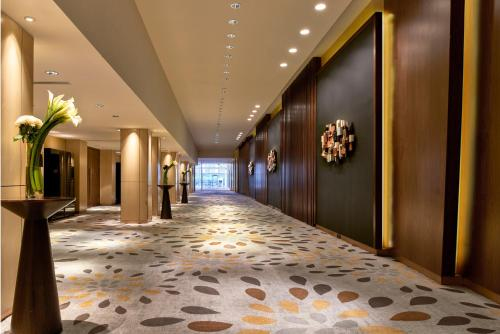 The lobby or reception area at Pullman Jakarta Indonesia