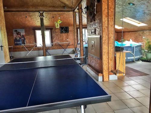 Настольный теннис в Мини гостиница Старый Причал или поблизости