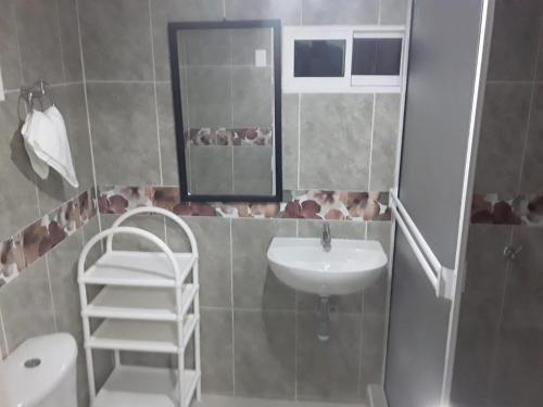 Ein Badezimmer in der Unterkunft Posada Miss Portia
