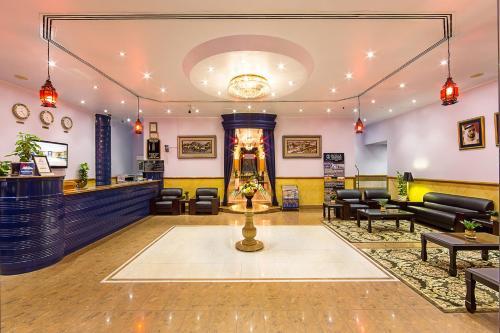 Лобби или стойка регистрации в Rolla Residence Hotel Apartment