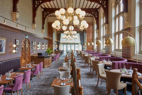 A restaurant or other place to eat at Stanbrook Abbey Hotel, Worcester