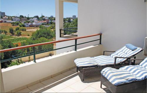 A balcony or terrace at Two-Bedroom Apartment in Alvor