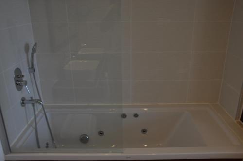 A bathroom at Hotel Turiya