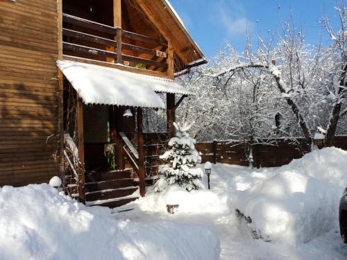 House On Tsvetochnaya зимой