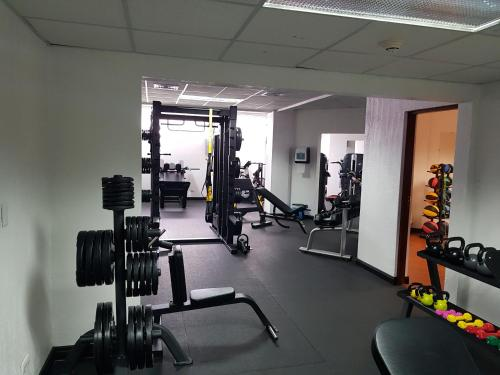 The fitness center and/or fitness facilities at Wyndham San Jose Herradura