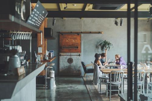 Restoran atau tempat makan lain di kagelow Mt.Fuji Hostel Kawaguchiko