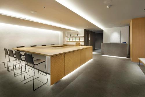 The lobby or reception area at TSUKI Tokyo