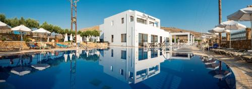 The swimming pool at or near Lindos View Hotel