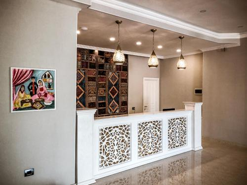 O saguão ou recepção de Ruma Qala Hotel