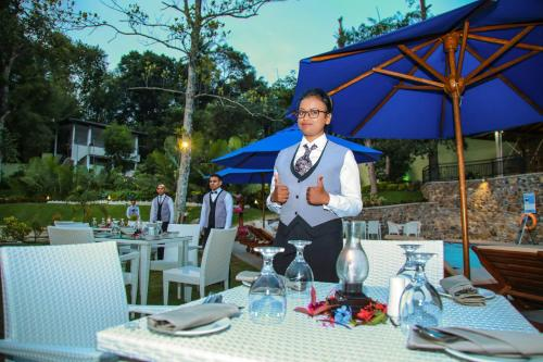 A restaurant or other place to eat at Royal Classic Resort