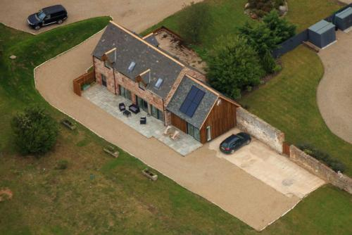 A bird's-eye view of The Cart Shed