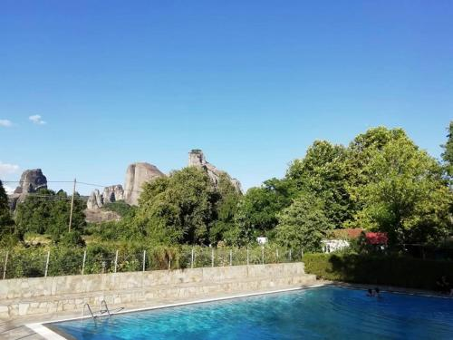 The swimming pool at or near Meteora Garden