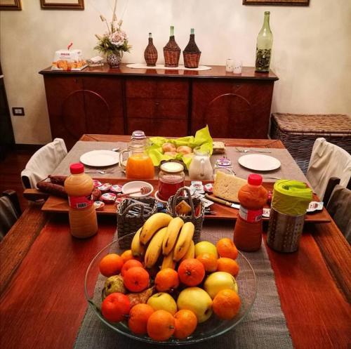 Breakfast options available to guests at B&B Sa Costera