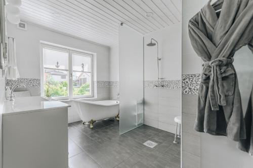 Ein Badezimmer in der Unterkunft Villa Marienholm