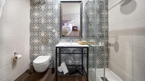 Un baño de Hotel Emblemático Agáldar