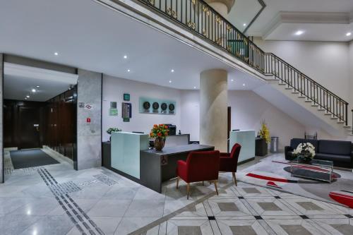 The lobby or reception area at Transamerica Prime Paradise Garden (Paraíso)