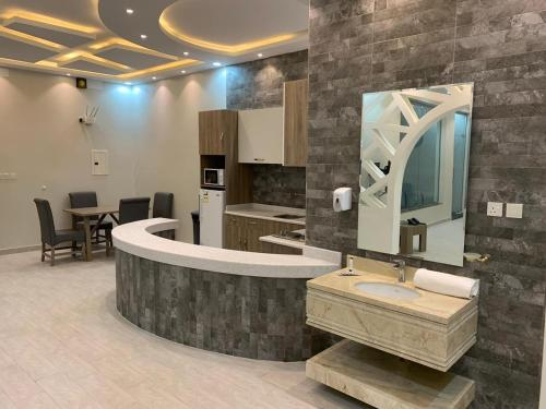 Um banheiro em Violette Chalet