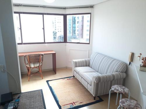 A seating area at Wall Street Flat