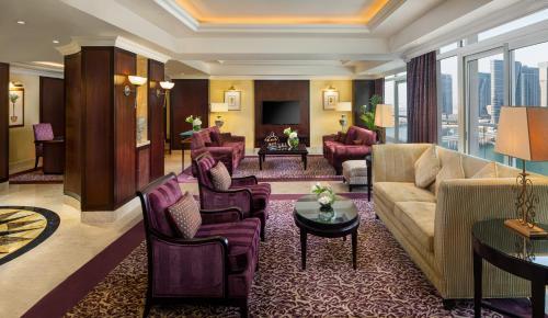 The lobby or reception area at Beach Rotana - Abu Dhabi
