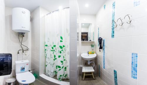 Ванная комната в Nice hostel Crocus