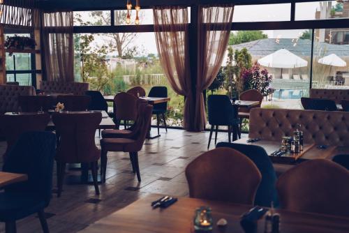 Ресторант или друго място за хранене в Аполония Ризорт