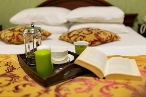 Breakfast options available to guests at Vila Muntenia Hotel