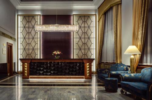 Vstupní hala nebo recepce v ubytování Art Deco Imperial Hotel