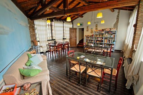 Salone o bar di Antica Locanda La Canonica