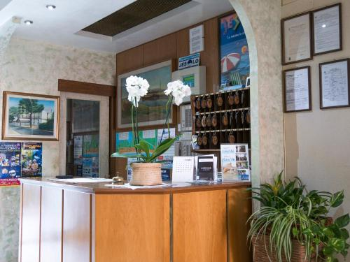 Hall o reception di Hotel Casa Mia