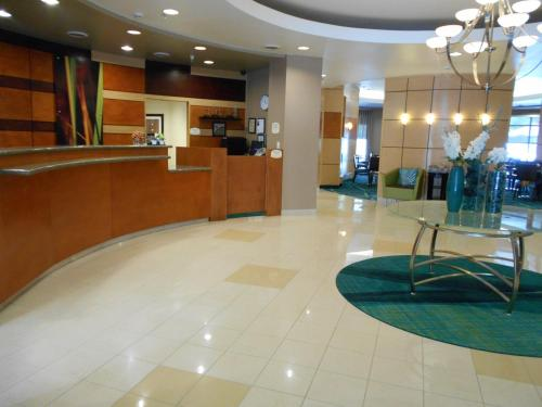 The lobby or reception area at SpringHill Suites Morgantown