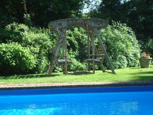 The swimming pool at or near A Butlers Manor