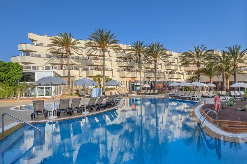 The swimming pool at or near Barceló Corralejo Bay - Adults Only