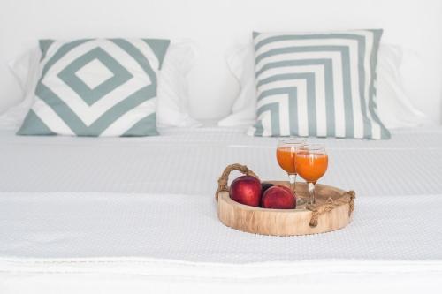Un ou plusieurs lits dans un hébergement de l'établissement Amazing View Hotel Apartments