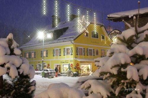 Ferienappartement Royer v zimě