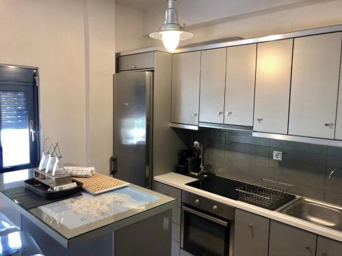 Η κουζίνα ή μικρή κουζίνα στο Villa Cavour