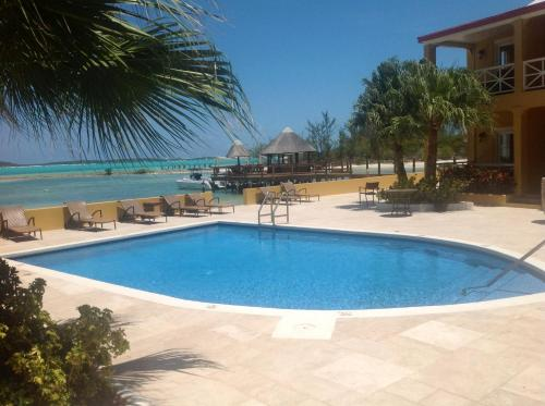 The swimming pool at or close to Augusta Bay Bahamas, Exuma