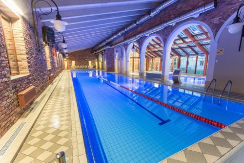 The swimming pool at or near Mäetaguse Manor Hotel & Spa