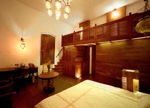 Cama o camas de una habitación en Le Dupleix
