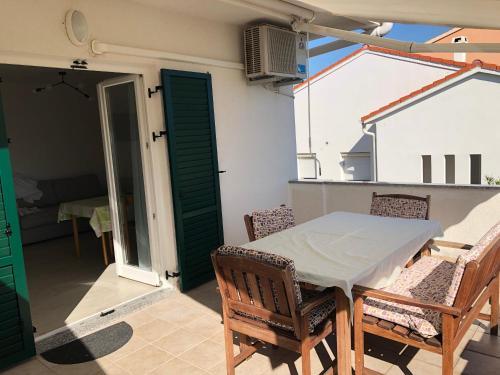 Balkón nebo terasa v ubytování Adriatic House