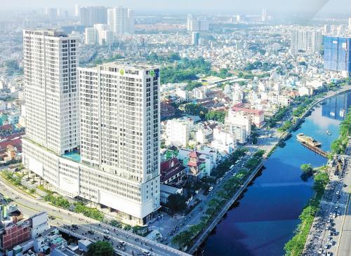 A bird's-eye view of Trip Apartment Saigon