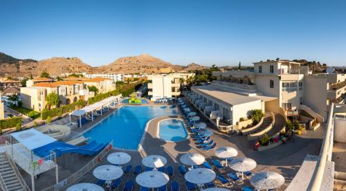 A view of the pool at Delfinia Resort - All Inclusive or nearby